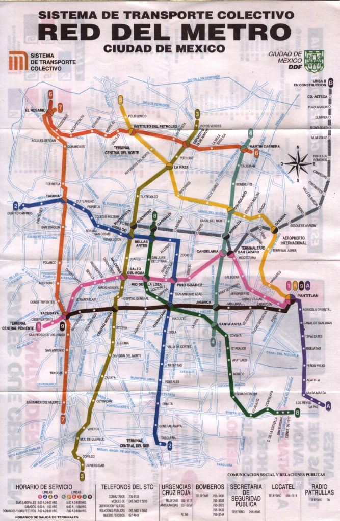 MexicoDF.metro